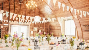 The barn was converted and renovated in 2006 and used as an event venue. (Source: Hawthorn Estates website)