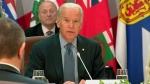 U.S. Vice-President Joe Biden meets PM Trudeau