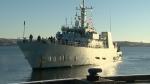 HMCS Kingston comes home