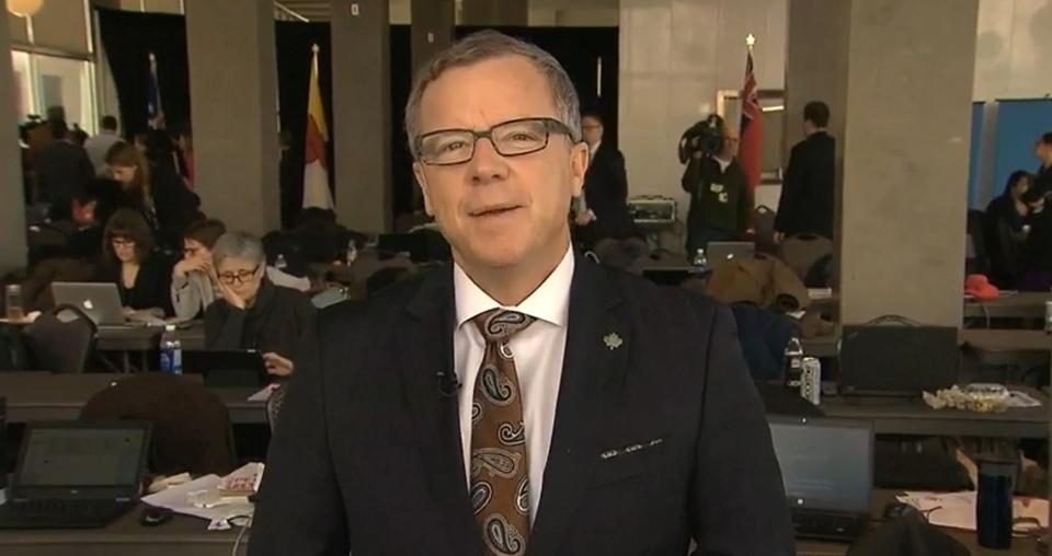 Saskatchewan Premier Brad Wall speaks to CTV's Power Play from Ottawa, on Friday, Dec. 9, 2016.
