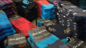 Good Luck Sock is targeting discerning fashion-forward shoppers who are willing to pay upwards of $10 per pair.