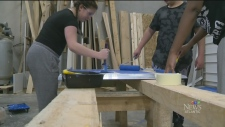 CTV Atlantic: Accessibility ramps built by teens