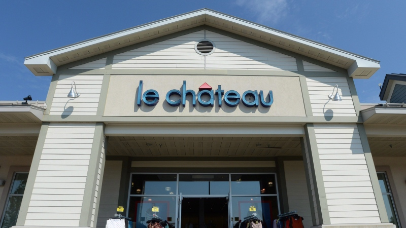 A Le Chateau retail store is shown in Montreal on Wednesday July 13, 2016. (THE CANADIAN PRESS/Ryan Remiorz)