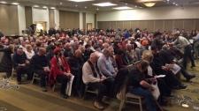Anti-carbon tax rally - Calgary