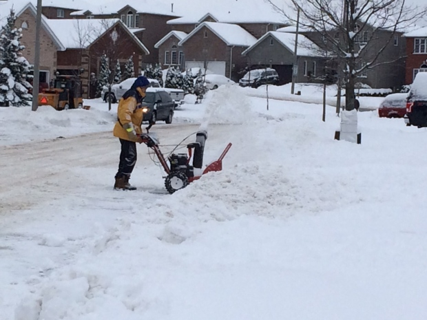 Kitchener Weather: Kitchener Saw 15 Cm Of Snow, Environment Canada Says