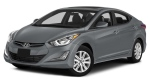 2015 grey Hyundai Elantra similar to the one Toutain would have been driving when leaving her residence on Queen Street in L'Orignal.