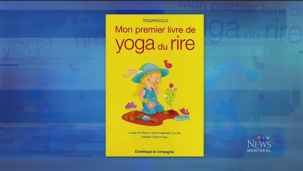 CTV Montreal: My first Laughing Yoga book