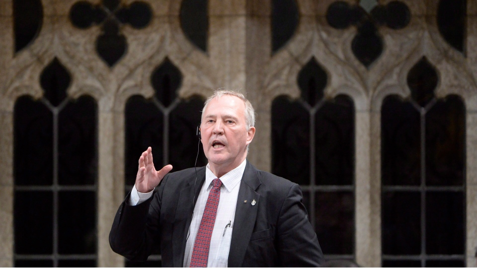 Liberal MP Bill Blair a question during Question Period in the House of Commons on Parliament Hill in Ottawa, on Thursday, Feb.25, 2016. (Adrian Wyld/The Canadian Press)