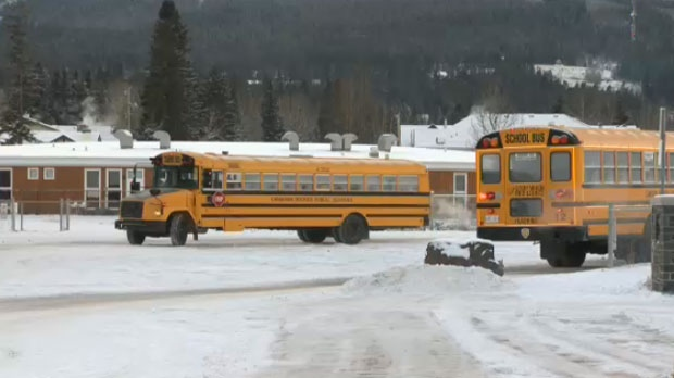 Mounties lock down middle school in Canmore to investigate