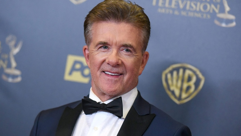 Alan Thicke poses in the pressroom at the 42nd annual Daytime Emmy Awards at Warner Bros. Studios on Sunday, April 26, 2015, in Burbank, Calif. (Photo by Richard Shotwell / Invision / AP)