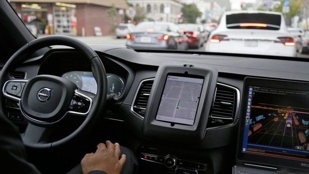 Uber self-driving cars coming back to California roads