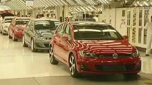 VW vehicle emissions