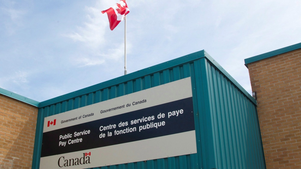 Public Service Pay Centre in Miramichi, N.B., on July 27, 2016. (Ron Ward / THE CANADIAN PRESS)