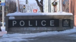 The Fredericton Police Force's headquarters is scene on Wednesday, Dec. 14, 2016.