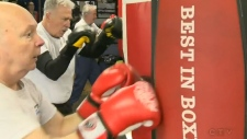 Boxing for Parkinson's patients