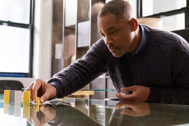 This image released by Warner Bros. Pictures shows Will Smith in a scene from 'Collateral Beauty.' (Barry Wetcher)