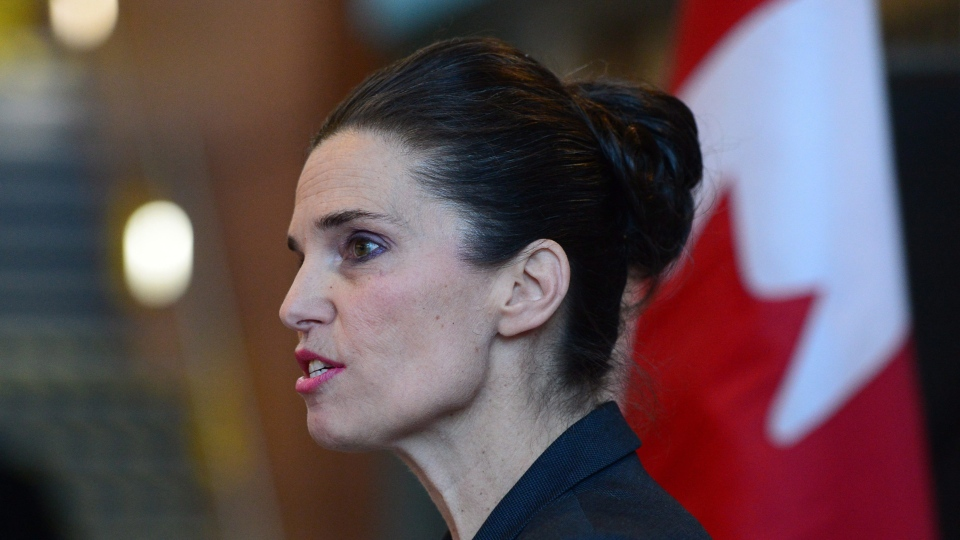 Science Minister Kirsty Duncan is gleeful universities heard loud and clear her ultimatum earlier this year that if they didn't step up efforts to find more women to fill research chair seats they would lose federal funding for future positions. (Sean Kilpatrick / THE CANADIAN PRESS)