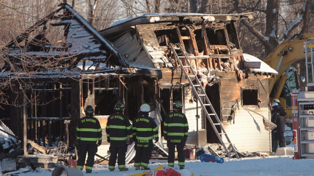 House fire on Oneida Nation of the Thames