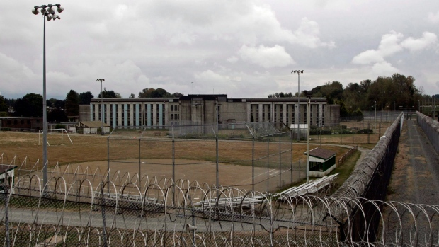 The Correctional Service of Canada's medium-security Matsqui prison in Abbotsford, B.C., is shown on Sept. 14, 2006. (THE CANADIAN PRESS/Richard Lam)