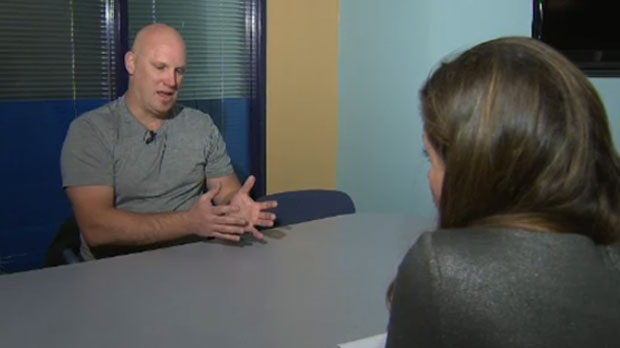 Gregg Taylor, owner of GHT Contracting, discusses the state of his business with CTV's Lea Williams-Doherty on Dec 14, 2016