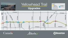 Yellowhead Trail upgrades