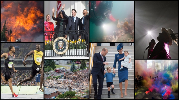 From a devastating wildfire to emotional farewells to a spotlight on sports, 2016 was a monumental year in Canada.