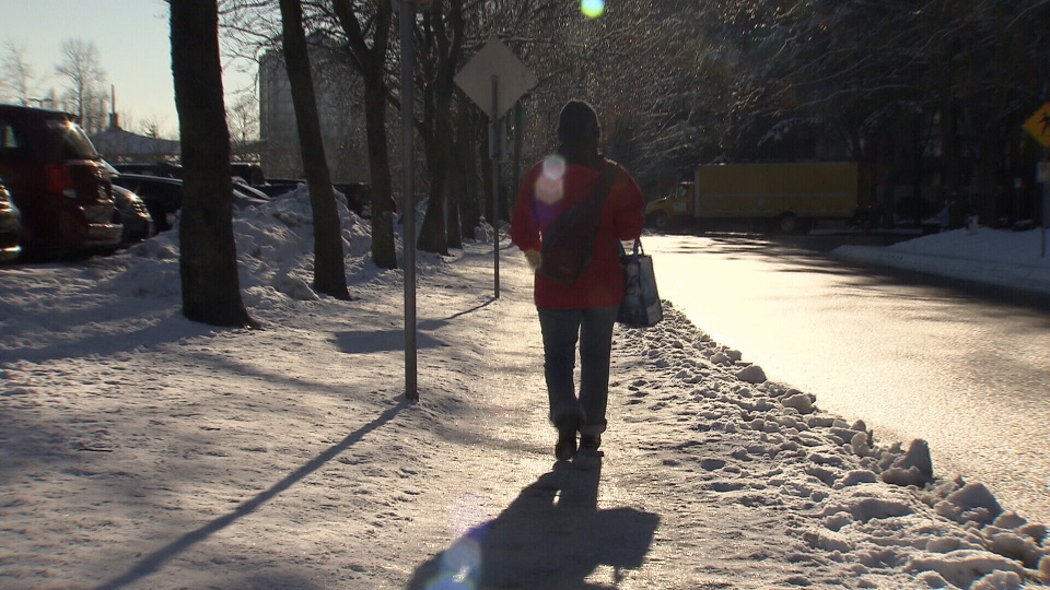 Abnormally cold weather conditions in B.C. may be responsible for the deaths of three people this month. (CTV)