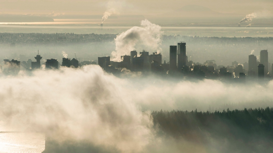 Downtown Vancouver on Dec. 15, 2016. (Jonathan Hayward / THE CANADIAN PRESS)