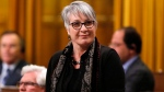 Labour Minister Patty Hajdu stands in the House of Commons, in Ottawa, on Friday, Dec. 9, 2016. (THE CANADIAN PRESS/ Patrick Doyle)