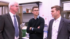 Dr. Cam Teskey, Jordan Farrell and Dr. Paolo Frederico have identified the role decreased oxygen levels in the brain has in Todd's Paralysis