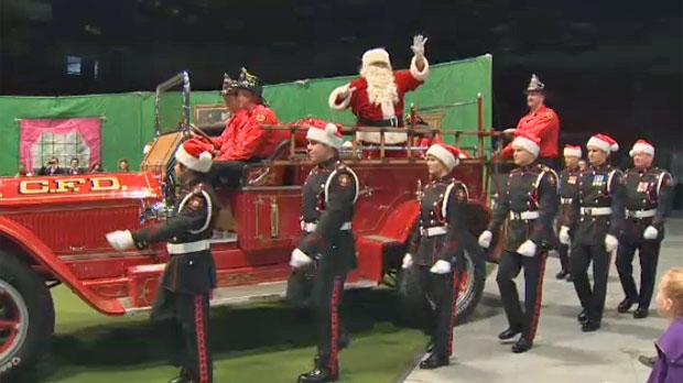 Hundreds Of Families Enjoy Party Hosted By Calgary