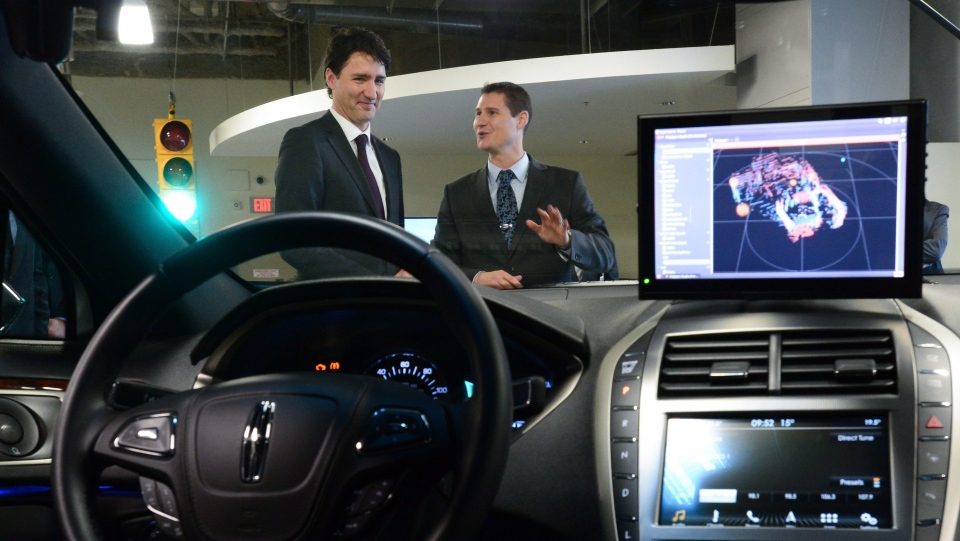 Blackberry self-driving cars