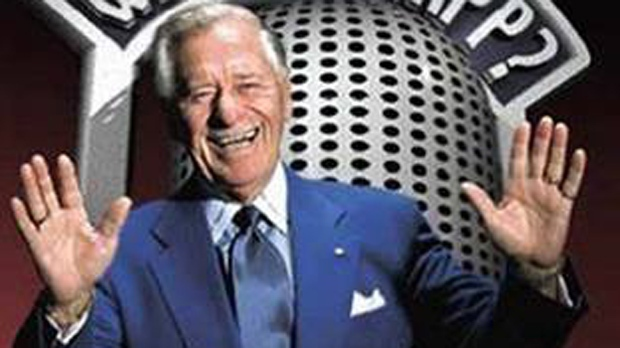 Canadian entertainer Gordie Tapp, a comedian, musician and script writer who found success in radio and TV, has died at the age of 94. (Gordie Tapp via Facebook)