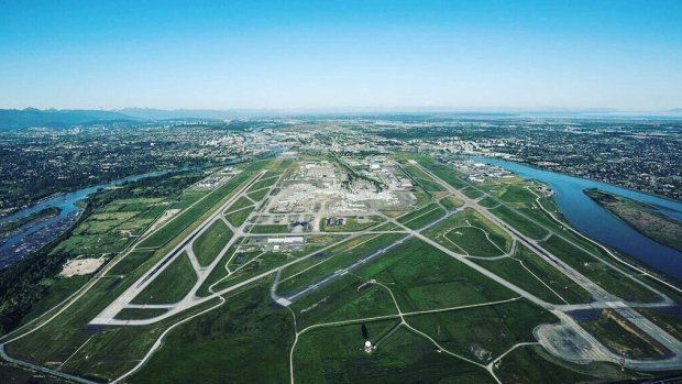 Vancouver International Airpot aerial
