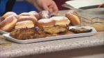 Latkes and fried jelly doughnuts – common food associated with Hanukkah celebrations (CTV News).