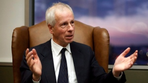 Foreign Affairs Minister Stephane Dion is shown during an interview in his office in Ottawa, Monday, December 19, 2016. (Fred Chartran/The Canadian Press)