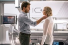 This image released by Columbia Pictures, Chris Pratt, left, and Jennifer Lawrence in a scene from the film, 'Passengers.' (Jaimie Trueblood / Columbia Pictures / Sony)