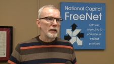 Bill Robson with National Capital FreeNet