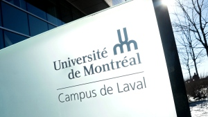 The University of Montreal's Laval, Que. campus is seen in this photo from March 12,2015. (Mario Beauregard / The Canadian Press)