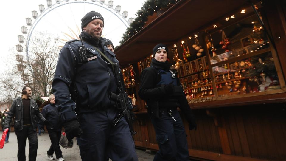 Police in Berlin, Germany