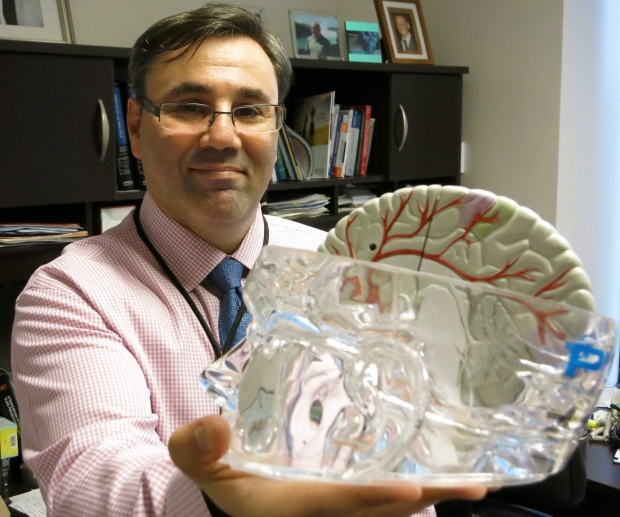 Dr. Gustavo Saposnik, neurologist at St. Michael's Hospital in Toronto is shown in this undated handout image. Silent strokes are common as people age. About seven per cent of people in their 50s have silent strokes. (THE CANADIAN PRESS/HO-St. Michael's Hospital)