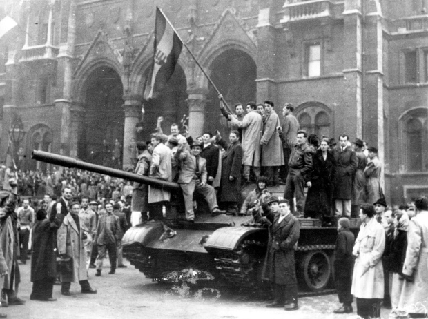 Hungarian rebels during the revolution