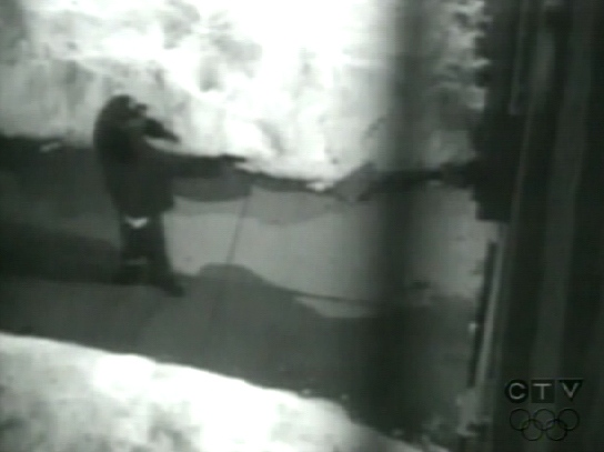 Toronto police released this security footage of March 2008 fatal shooting.