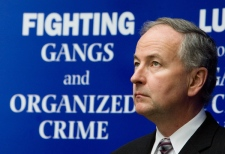 Minister of Justice and Attorney General of Canada Rob Nicholson speaks during a press conference in Ottawa on Thursday, Feb. 26, 2009. (Sean Kilpatrick / THE CANADIAN PRESS)