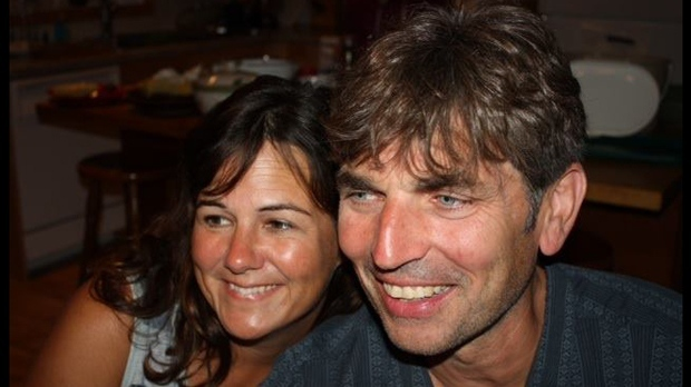Jacqueline Gardner and Geoff Taber are shown in an undated Facebook photo.