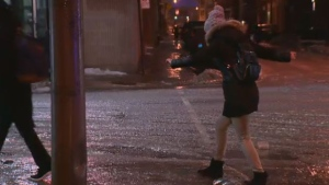 Montreal freezing rain