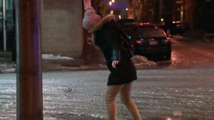 Environment Canada is calling for rain, freezing rain and snow over the weekend. (FILE PHOTO)