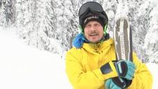 Gold medallist Ross Rebagliati