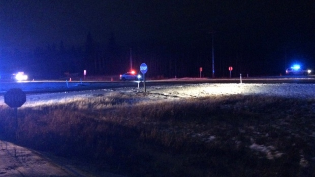 Strathcona fatal collision, Highway 21 closed