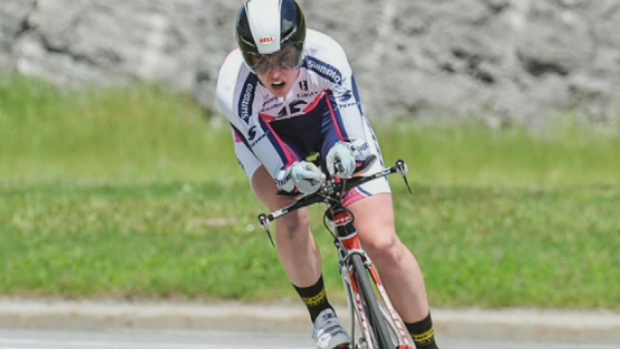 Cyclist Ellen Watters died in December after being hit by a vehicle while training near Sussex, N.B.